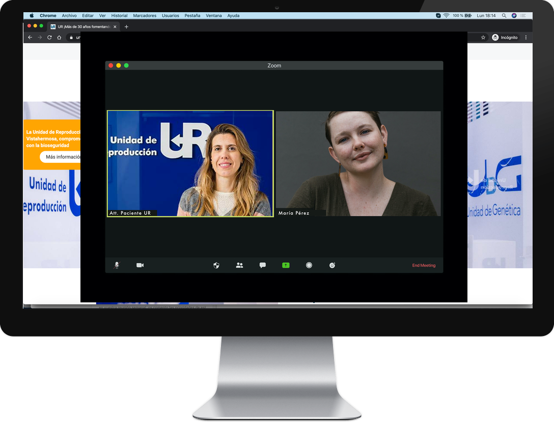 videoconferencia UR